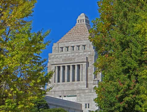 What is the name of the Parliament of Japan?